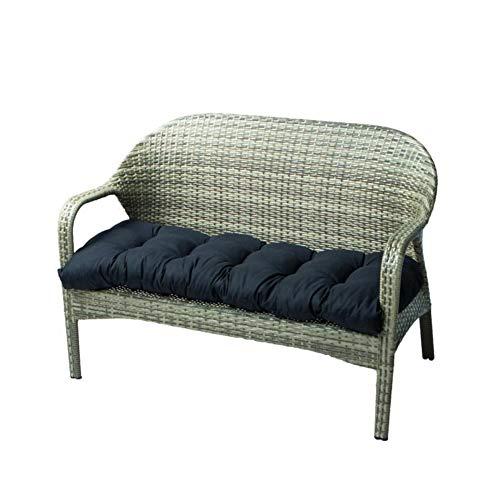 Bonwuno Bench Cushion, Universal Outdoor Patio Bench Cushion Soft Thicken Garden Porch Swing Cushion Seat Cushions for Indoor Outdoor Furniture (50 X 20 X 5, Chair Not Included)