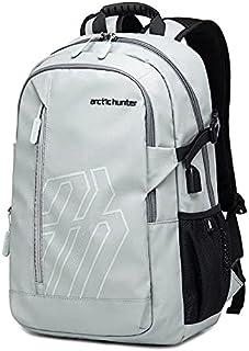 Arctic Hunter Light Outdoor Men's Backpack 15.6 Inch Multifunction Large Capacity Waterproof - Grey