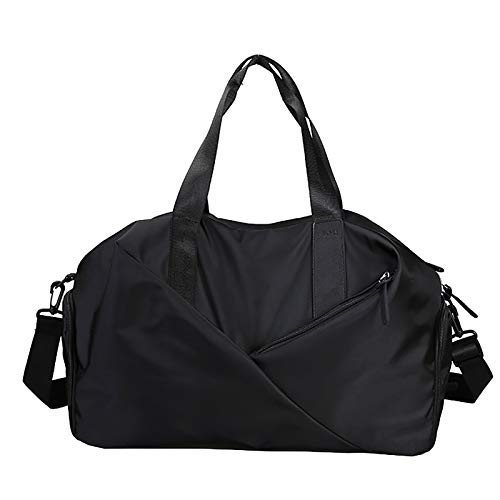 TIANTIAN Travel Duffel Bag Sports Tote Gym Bag Shoulder Weekender Overnight Bag for Women