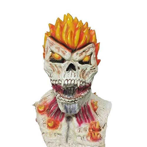 Nologo GEMORE Ghost Rider Schädel-Maske Halloween Maske Dämon Spuk Partei Geist Cosplay Schablone Kühle Maske