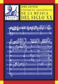 Enfoques analíticos de la música del siglo XX: 16