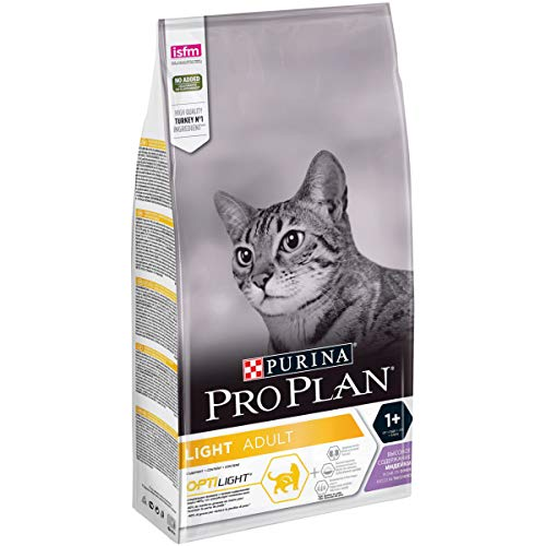 Pro Plan Cat Katzentrockenfutter Light Truthahn 1,5 kg, 1er pack (1 x 1,5 kg)
