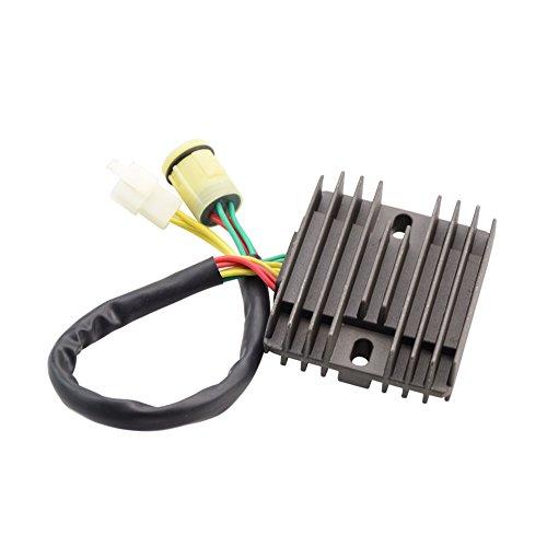 GOOFIT Motorrad Boot Motor Mercur Neue Spannungsregler Gleichrichter Für Honda XRV750 XRV 750 P-Y 1993-03