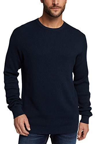 ESPRIT 100EE2I313 Pullover, 400/Navy, S Uomo