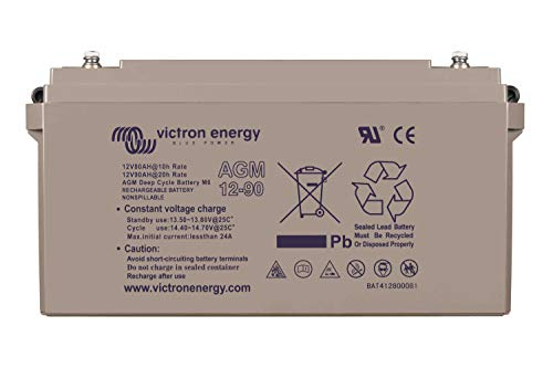 Victron Energie - Batterie AGM à décharge lente 90Ah