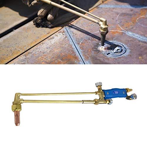 LEXIANG Pistola calefactora de Soldadura con Soldadura Fuerte, soplete de un Solo Interruptor, Pistola de Llama, Encendido de Gas licuado, soplete de Soldadura