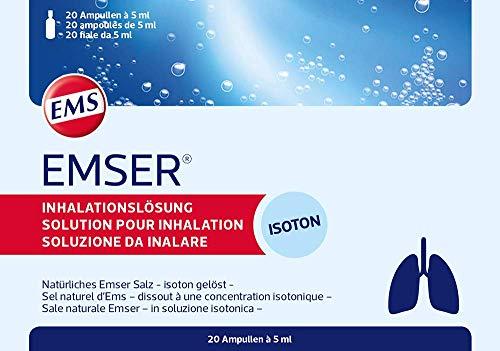Emser Inhalationslösung, 20 St. Ampullen 5ml