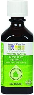 Aura Cacia Keep It Fresh Essential Oil Blend for Home Care | 2 fl. oz.