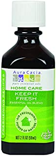Aura Cacia Keep It Fresh Essential Oil Blend for Home Care | 2 fl. oz.