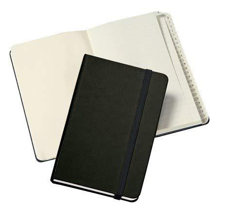 Rubrica telefonica tascabile 9x14 copertina rigida nero