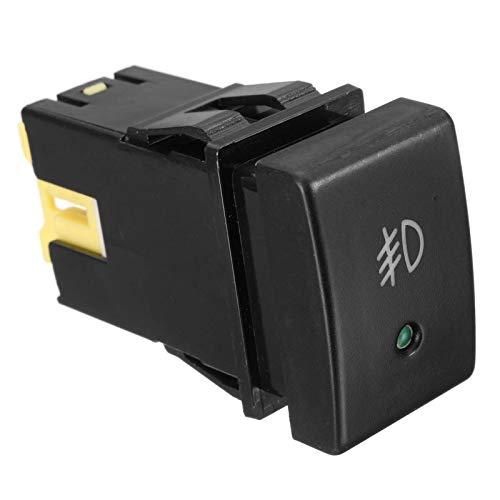 QBV Interruptor de botón de luz antiniebla Delantera de Coche Negro de 3 Pines para Suzuki Grand Vitara Jimny tamaño 24X65X363MM