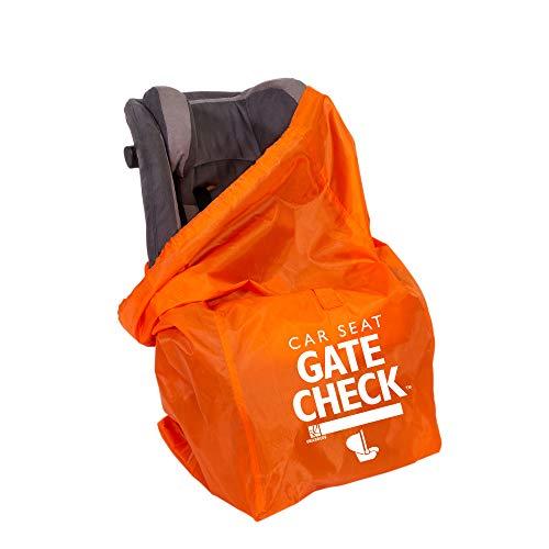 J.L. Childress Gate Check Bag for Car Seats, Orange