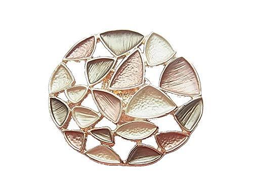 Brosche Magnetbrosche Schal Clip Bekleidung Poncho Taschen Stiefel Textilschmuck Rosegold