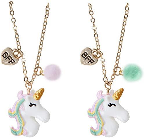 Great Pretenders- Unicorn BFF Necklace (2 pcs) Abalorios, Color (Multicolor) (86111)