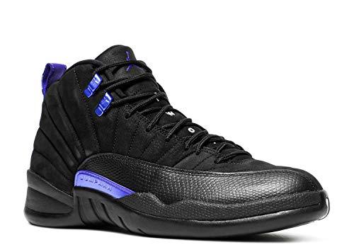 Nike Zapatos De Hombre Air Jordan 12 Negro Concord CT8013-005, negro (Negro/Negro/Dark Concord), 42.5 EU