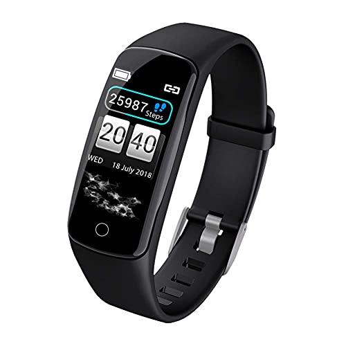 LITINGT & reg;Pulsera de Fitness con Monitor de frecuencia cardíaca, rastreador de Actividad con Monitor de sueño, podómetro Resistente al Agua IP67, Reloj de Pulsera Inteligente con Pantalla a Col