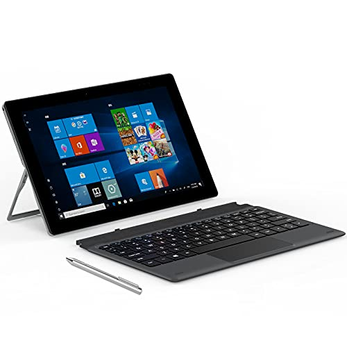 """ALLDOCUBE iWORK20 2-in-1 Laptop, Tablet PC with Keyboard (and Stylus Pen), 10.1"""" Windows Tablet, Intel N4020 CPU, 4GB RAM/128GB ROM, Windows 10, Type-C, Support HDMI, Convertible Laptop"""