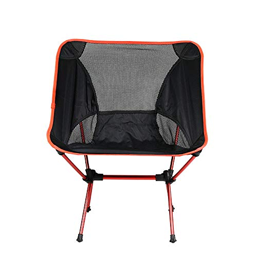 Campingstoel, ergonomische hoge rug, ondersteuning van 300 pond met draagtas Armstoel Opvouwbare quad-stoel Outdoor Heavy Duty, gewatteerde armleuning, bekerhouder