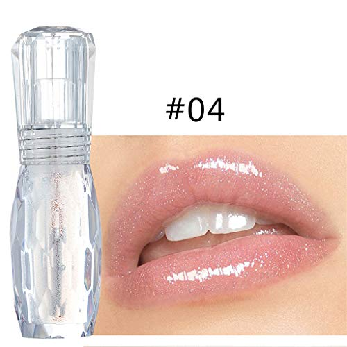 LILICATRouge à LèVres Liquide Gloss Multicolor Transparent Makeup Primer Brillant Maquillage à LèVres,Beauté Brillant à lèvres Femme Lipstick Cosmetics Women Lips Matte Hydratant Waterproof Lip Gloss