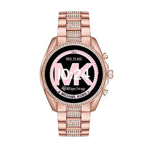 Michael Kors Smartwatch Touchscreen Connected Donna con Cinturino in Acciaio Inossidabile MKT5089