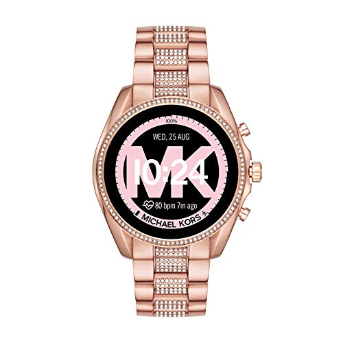 Michael Kors Smartwatch Touchscreen Connected Donna con Cinturino in Acciaio Inossidabile MKT5089