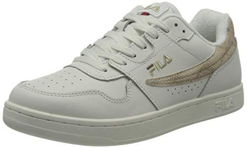FILA Arcade A wmn Sneaker Donna, Bianco (White/Gold), 36 EU