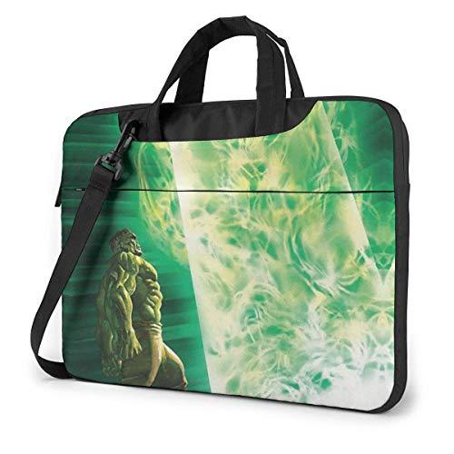 14 Inch Laptop Bag Cool Hulk Laptop Briefcase Shoulder Messenger Bag Case Sleeve