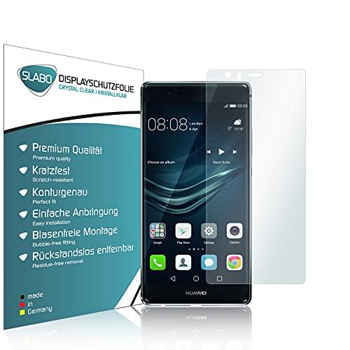 Slabo 4 x Bildschirmschutzfolie für Huawei P9 Plus Bildschirmfolie Schutzfolie Folie Zubehör Crystal Clear KLAR