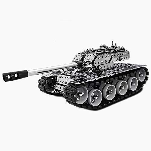 Tank 3D Metal Puzzle Model Kit de construcción Rompecabezas de Corte láser DIY Puzzle y 3D Model Kit