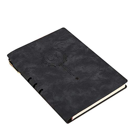 Cuaderno A5 - Cuaderno De Negocios De Cara Suave Gris A5