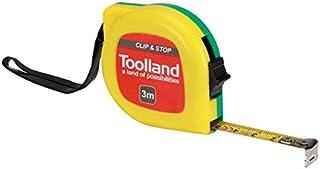 TOOLLAND - WM38300 rolbandmaat - met clip en uitschakeling - 3 m - 13 mm 174480