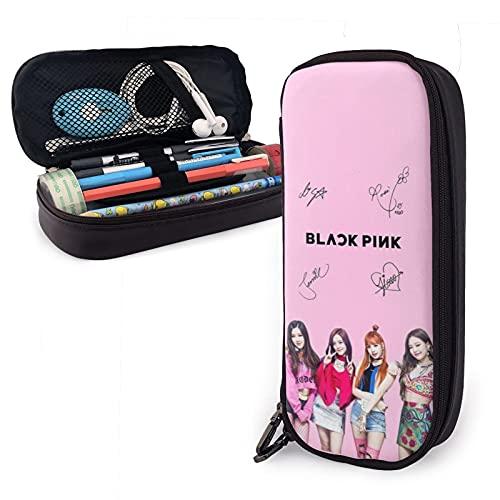 K-POP Square Up Albums Season Greetings 2021 Jisoo,Jennie,Rosé,Lisa - Estuche de plástico para bolígrafos de oficina