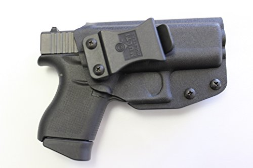 Multi Holsters Elite IWB FOMI Right-Hand Holster Compatible w/Glock 43 (Black Calcutta)