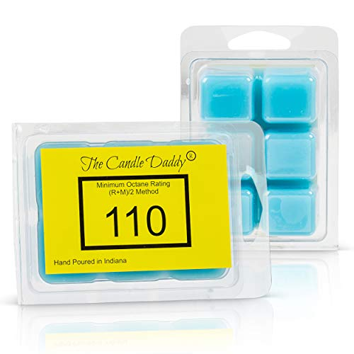 The Candle Daddy Race Fuel Track Car Maximum Scented Wax Cubes/Melts- 2 Packs -4 Ounces Total- 12 Cubes