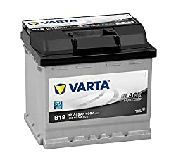 Varta BLACK Dynamic B19 car battery 545 412 040 3122, 12V 45Ah 400A / EN