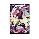 GIUU Wayne Rooney Poster dekorative Malerei Leinwand