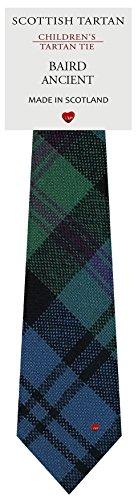 I Luv Ltd Garçon Tout Cravate en Laine Tissé et Fabriqué en Ecosse à Baird Ancient Tartan