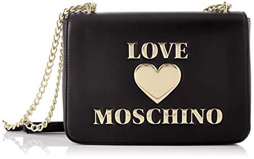 Love Moschino Precollezione SS21 | Borsa a Spalla da Donna, Nero, Normal