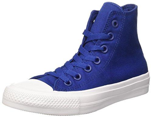 Converse Chuck Taylor All Star Ii Hi - gimnasia Unisex adulto, Azul, EU 36 (US 3.5)
