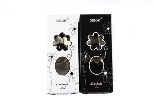 DISOK - Difusor Ambientador De Aromas Flores - Ambientadores para Detalles de Bodas, Bautizos, Comuniones. Regalos para Mujeres invitadas Originales, Prácticos, Hogar, Casa, Difusores