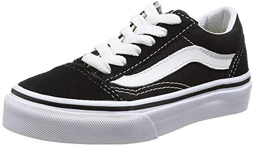 Vans Old Skool, Zapatillas Unisex Niños, Negro (Black/True White 6bt), 30 EU