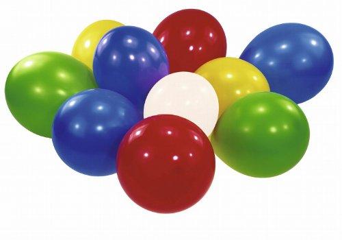 Riethmüller - 6434 - Décoration de Fête - 100 Ballons - Couleurs Assorties