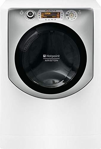 Hotpoint AQD1070D 49 EU/B Carga frontal Independiente Blanco A - Lavadora-secadora (Carga frontal, Independiente, Blanco, Derecho, Giratorio, Tocar, LCD)