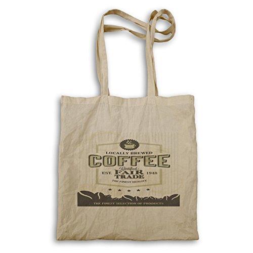 INNOGLEN Kaffee Fairtrade Original Lustige Neuheit Tragetasche b129r