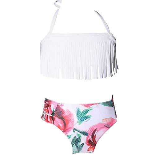 Chengxin bikini badpak tweedelig met opdruk nap tankini riem verstelbaar bikini
