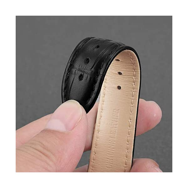 Croco Design Leather Watch Bands,EACHE Classical Leather Watch Straps For Women&MensWaterproof 12mm 14mm 16mm 18mm 19mm 20mm 21mm 22mm 24mm