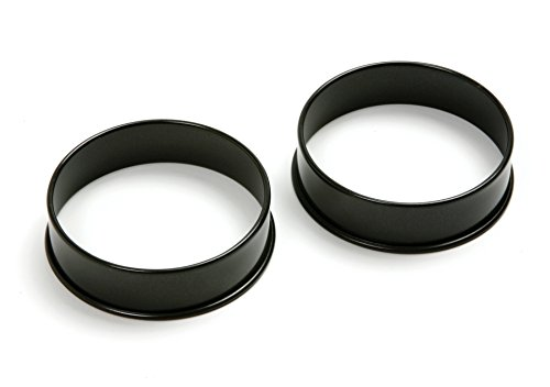 Norpro Nonstick Egg Rings, Set of 2, One Size, Multicolor