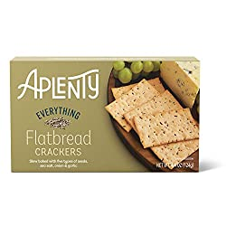 Aplenty, Everything Flatbread Crackers, 4.4 oz