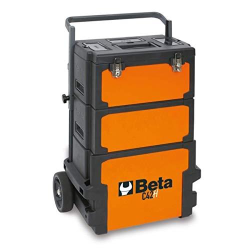 Beta C42H Werkzeugwagen, Werkzeugtrolley, (Werkstattwagen mit drei stapelbaren Modulen &...