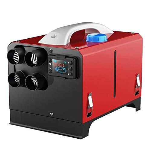 Calentador De Estacionamiento Diesel,Mando a Distancia, LCD 12V 5KW, Consumo de Combustible 0,23-0,51 L/Hora,Calentador De Aire Diésel, Calefacción Estática Furgoneta Diesel Calentador Coche